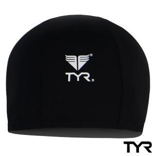 【美國TYR】成人萊卡泳帽 Lycra Swim Cap Black(台灣總代理)