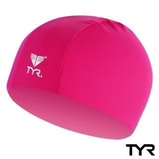 【美國TYR】成人萊卡泳帽 Lycra Swim Cap Pink(台灣總代理)