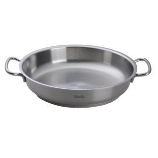 【德國 Fissler】Fissler Original Profi 雙耳鍋 平底鍋 不鏽鋼鍋28cm 德國製造(雙耳鍋 平底鍋 不鏽鋼鍋)