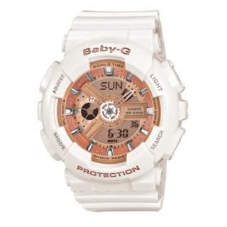 【CASIO/BABY-G】前衛風格運動錶(BA-110-7A1DR)