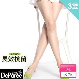 【蒂巴蕾Deparee】長效抗菌彈性絲襪(3入)