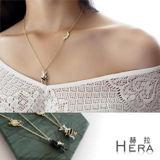 【Hera】赫拉 星球月亮萌寵項鍊(兩款)