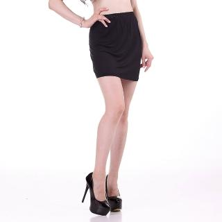 【BELLA SETA】100%蠶絲內搭襯裙(黑色)