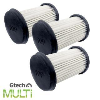 【英國 Gtech】Multi 專用 HEPA 濾網(三入組)