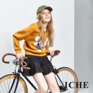 【ICHE 衣哲】3D立體裝飾短版造型上衣