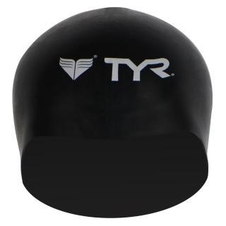 【美國TYR】成人用3D矽膠泳帽 Solid Silicone Siliver(台灣總代理)