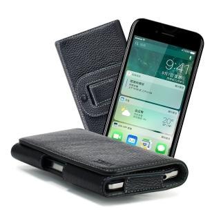 【X mart】Apple iPhone 7 Plus / i7+ 5.5吋 麗緻真皮腰掛皮套