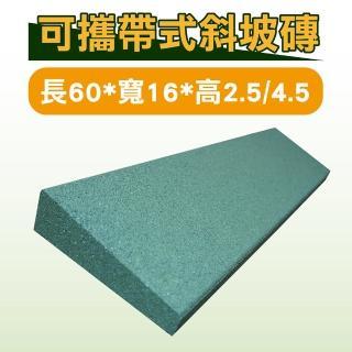 可攜帶式斜坡磚 長60*寬16*高2.5/4.5(斜坡板)