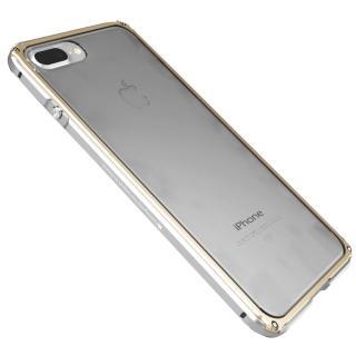 【GINMIC】iPhone 7 PLUS 5.5 雙色傳奇系列金屬邊框加透明後背蓋保護殼