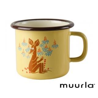 【芬蘭Muurla】大耳史尼夫 -琺瑯杯-250cc(muurla moomin 嚕嚕米 琺瑯杯 咖啡杯)