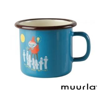 【芬蘭Muurla】小不點鄉村復古風 -琺瑯杯-250cc(muurla moomin 嚕嚕米 琺瑯杯 咖啡杯)