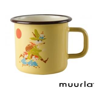【芬蘭Muurla】愛旅行的阿金 -琺瑯杯-370cc(muurla moomin 嚕嚕米 琺瑯杯 咖啡杯)