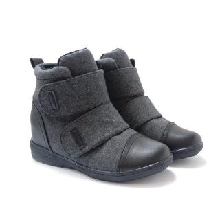 法國pierre cardin視覺激瘦內增高短靴