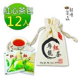 ~龍源茶品~紅心烏龍~紅茶包1袋組^(12包 棉袋^)