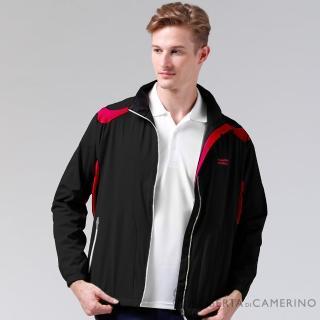 【ROBERTA諾貝達】休閒極品 輕薄休閒防潑水夾克外套(黑色)