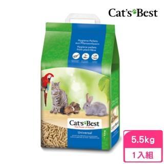 【凱優CATSBEST】優質凝結木屑砂-藍標 10L