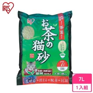 【IRIS】綠茶木屑貓砂 7L(OCN-70)