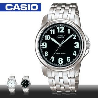 【CASIO 卡西歐】防水_不鏽鋼錶帶_礦物玻璃_男錶(MTP-1216A)