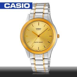 【CASIO 卡西歐】送禮首選_不鏽鋼錶帶_生活防水_折疊式錶扣_男錶(MTP-1128G)