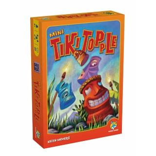 【益智玩具 歐美桌遊】推倒提基迷你版  Tiki Topple Mini(中文版)