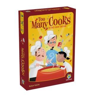 【益智玩具 歐美桌遊】Too Many Cooks 料理廚王(中文版)