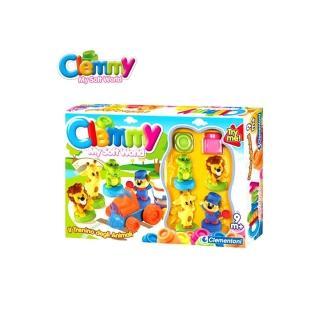 【Clemmy軟質積木】動物火車