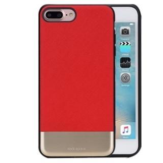 【Rock space】奧睿系列 iPhone 7 4.7  皮革金屬拉絲保護殼(手機殼 背蓋 磁吸車架)