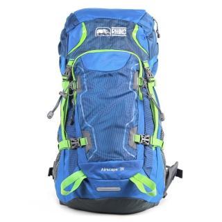 【犀牛RHINO】Airscape 36公升透氣網架背包(藍綠)