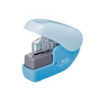 【普樂士PLUS】無針釘書機SL-104NB/藍色