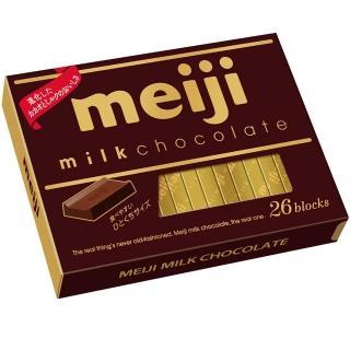 【明治】牛奶巧克力盒裝-26枚(120g)