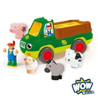 【英國WOW Toys 驚奇玩具】農場卡車 佛雷迪