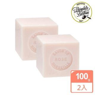【法國 戴奧飛波登】方塊馬賽皂-玫瑰香2入組(100g*2入)
