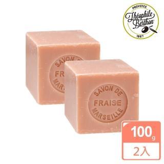 【法國 戴奧飛波登】方塊馬賽皂-草莓香2入組(100g*2入)