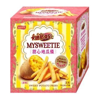 【聯華食品-卡迪那】台灣地瓜條-原味-18gx5包(卡迪那95度C)