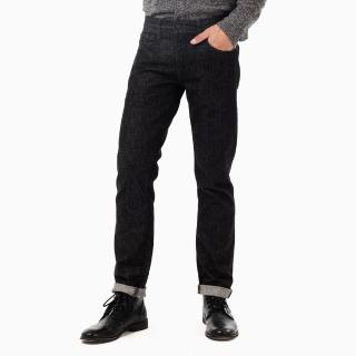 【Levis】511 修身窄管丹寧牛仔褲 / 質感黑