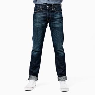 【Levis】511 修身窄管牛仔褲 赤耳布料 水洗貓鬚 海報款