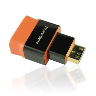 【群加 Powersync】Mini HDMI C-Type To HDMI母 尊爵版 鍍金接頭 相機專用轉接頭(HDMI4-KAMMNC)