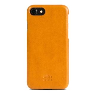 【alto】iPhone 7 真皮手機殼背蓋 Original - 淺棕(alto  義大利真皮皮革)