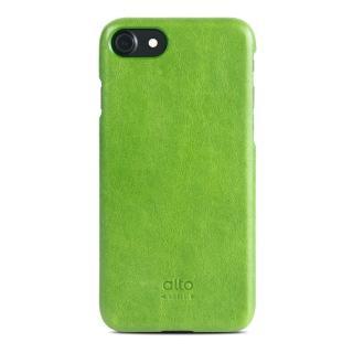 【alto】iPhone 7 真皮手機殼背蓋 Original - 萊姆綠(alto  義大利真皮皮革)