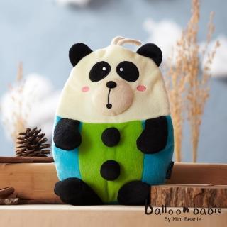 【Balloon Babie】熱水袋熱敷袋_紳士熊貓Panda(氣球寶寶)
