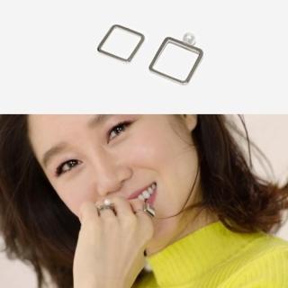 【梨花HaNA】韓劇嫉妒的化身孔孝真方型珍珠戒指組2入