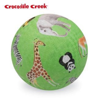 【美國Crocodile Creek】7吋兒童運動遊戲球(動物風情)