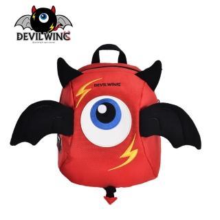 【韓國 Devil Wing】小惡魔翅膀幼兒防走失背包-書包(紅)