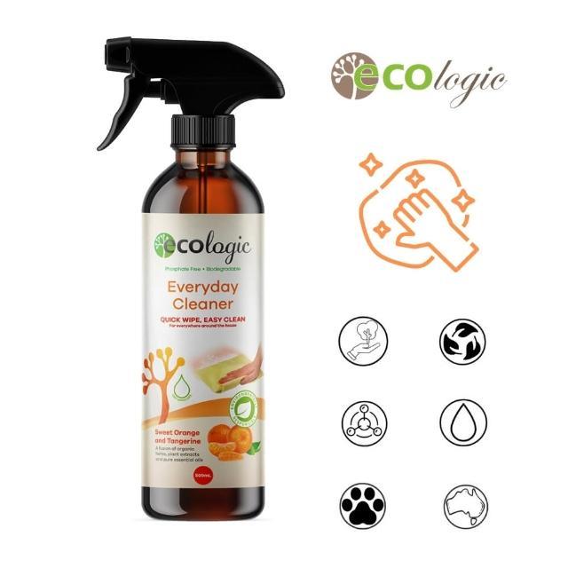 【澳洲 Ecologic】天然橙桔日常萬用清潔劑(520ml - 有機配方)