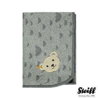 【STEIFF德國金耳釦泰迪熊】毛毯(枕頭/被類)