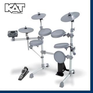 【KAT】美國電子鼓品牌 / 超過150組音色 / 贈鼓椅、鼓棒、耳機 公司貨(KT-1)