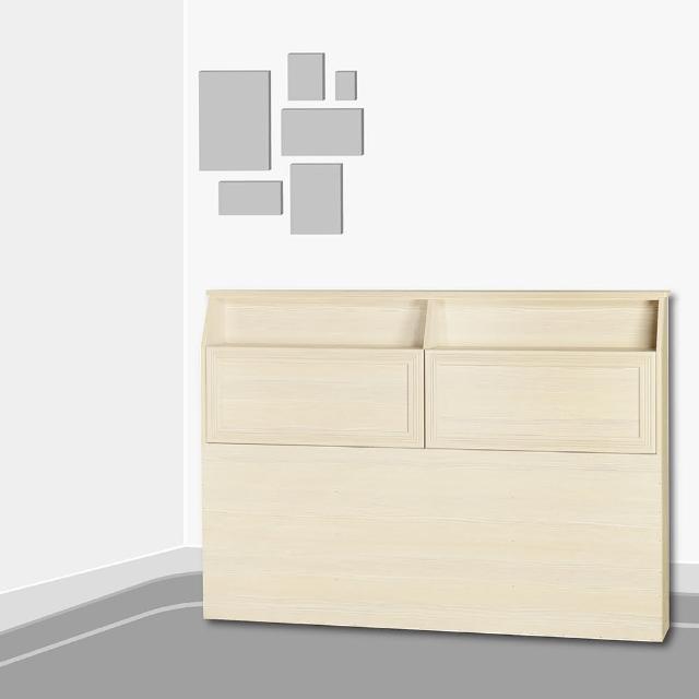 【AS】日式木質5尺床頭片