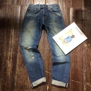 【Levis】511 修身窄管丹寧牛仔褲 破壞 縫紉 重磅 海報款