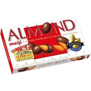 【明治】杏仁巧克力盒裝(88g)