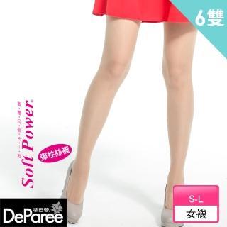 【蒂巴蕾Deparee】蒂巴蕾 Deparee 彈性絲襪(6入)